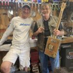 Pic of Rob Wrobel and me holding my new CBG