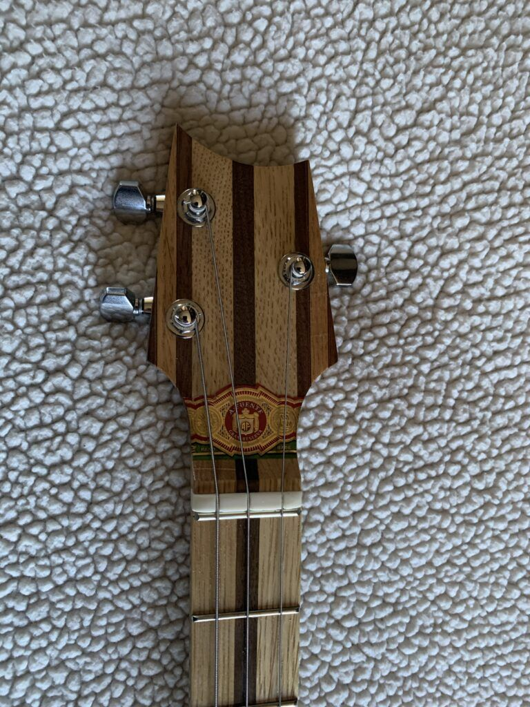 Pic of the headstock on my King Bee